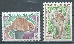 Madagascar YT N°536/537 Lémuriens Neuf ** - Madagascar (1960-...)