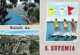 Cartolina S. Eufemia Vedutine Pin Up Sci D'acqua - Catanzaro