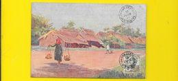 SAÏGON Sur La Route (Frequenez Planté) Cochinchine Viet Nam - Viêt-Nam