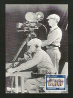 Luxemburg 1996 Mi.Nr.1395 , Cameraman - Maximum Card - Exposition Philateloque Nationale ä Clermont-Ferrand 24-27 Mai 96 - Cartes Maximum