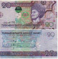 TURKMENISTAN    20  Manat.  P32   ( 2012 )   UNC - Turkmenistan