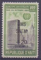 Rép.d'HAÏTI:1961:Y.470&PA229-30 Dentelés/neufs/MNH:## Au Profit Du Fonds De La Lutte Contre La MALARIA ##:PALUDISME, ... - Haïti