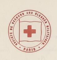 Paris 1867 Société De Secours Des Blessés Militaires établissement élevé Au Rang D'utilité Publique Croix-rouge - Documents Historiques
