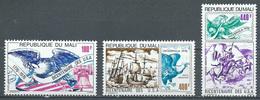 Mali Poste Aérienne YT N°273/275 Indépendance Des Etats-Unis Neuf ** - Mali (1959-...)