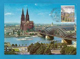 Luxemburg  1995 Mi.Nr. 1364 , Köln Am Rhein - Maximum Card - - Maximumkarten