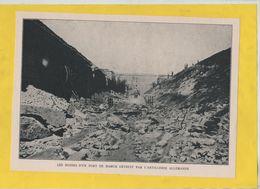 Les Ruines D'un Fort De Namur Détruit Par L'artillerie Allemande 1914 - 1914-18