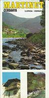 Feuillet De 3 Pages , Publicitaire Pour MARTINET Cerdanya ( Lerida - Espanya ) - Espagne