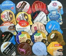 20 KRD Einzeldeckel Deutschland (4) - Milchdeckel - Kaffeerahmdeckel