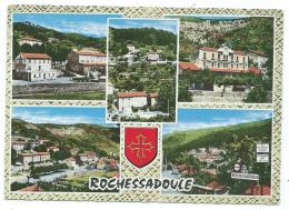 CPSM MULTIVUES COLORISEE ROCHESSADOULE, GARD 30 - France