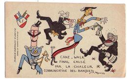 F123 - Caricature Politique - Signée : Moriss - éd. De La Chanson De France - - Satiriques