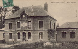 TORCY LE PETIT : Mairie Et Ecoles - Francia