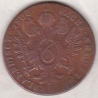 Austria. 6 Kreuzer 1800 B (Kremnitz) Franz II. KM# 2128 - Autriche