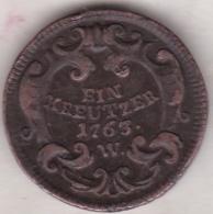 Austria. 1 Kreuzer 1763 W (Breslau) Maria Theresia. KM# 1993 - Austria