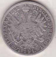 Austria. 1 Florin 1892. Franz Joseph I. Argent .KM# 2222 - Austria