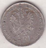 Austria. ¼ Florin 1859 B (Kremnitz). Franz Joseph I. Argent .KM# 2214 - Autriche