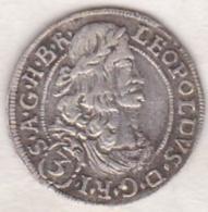 Austria. 3 Kreuzer 1693 . Leopold I. Argent . KM# 1116 - Autriche