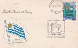 FDC- 100 AÑOS DE LA ACCION EDUCATIVA DE LOS SALESIANOS-URUGUAY-TBE-BLEUP - Uruguay