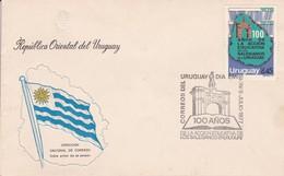 FDC- 100 AÑOS DE LA ACCION EDUCATIVA DE LOS SALESIANOS EN URUGUAY-TBE-BLEUP - Uruguay