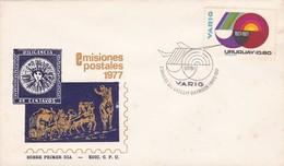 FDC- VARIG 60 AÑOS. URUGUAY-TBE-BLEUP - Uruguay