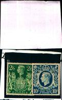 85904) Gran Bretagna-1942 GiorgioVI Alti Valori-n.233-MLH*+234-MNH** - 1902-1951 (Re)