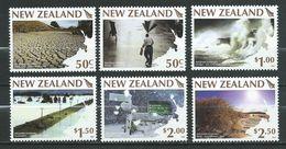 New Zealand 2008 Weather Extremes Set MNH - Neuseeland