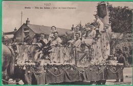 41 - Blois - Fête Des Reines - Char De Cour Cheverny - Editeur: Lenormand - Blois