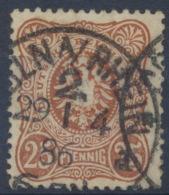 Deutsches Reich 43b O Gepr. Petry BPP - Deutschland