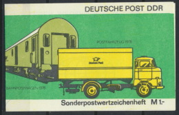 DDR Markenheftchen SMHD9ba Mit 10x3226 ** Postfrisch - Markenheftchen