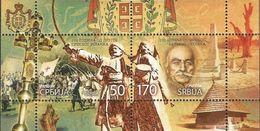 SRB 2015-603-4 200A° Second Serbian Uprising, SERBIA, S/S, MNH - Militaria