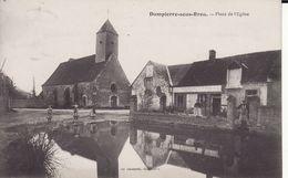 Dampierre Sous Brou Place De L'église CPA J4 - France