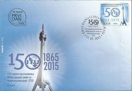SRB 2015-607 I T U, SERBIA, FDC - Telekom