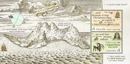 Christmas Island - 2017 - Early Voyages - Mint Souvenir Sheet - Christmas Island