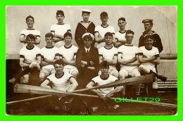 BATEAUX, SHIPS - TROUPE DE RAMEURS DU H.M.S. MAILBOROUGH - - Other