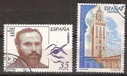 España U 3586/87 (o) Centenarios. 1998 - 1931-Aujourd'hui: II. République - ....Juan Carlos I