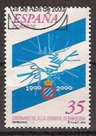 España U 3705 (o) RCF. Espanyol. 2000 - 1991-00 Gebraucht