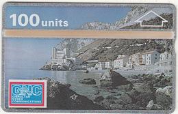GIBRALTAR - Catalan Bay Village(100 Units), CN : 101K, Tirage 5000, Used - Gibraltar