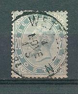 39 Gestempeld WETTEREN - Cote 12,00 - COBA 8 Euro (zie Opm) - 1883 Leopold II