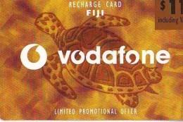 Télécarte * FIJI  (2326) TORTUE *  TURTLE * *  Phonecard - SCHILDKRÖTE * TELEFONKARTE - Schildpadden