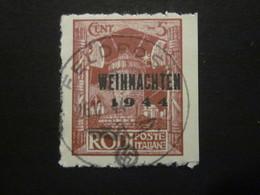 Feldpost RHODOS Nr. 12 GESTEMPELT / Nachdruck (3) - Besetzungen 1938-45