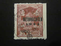 Feldpost RHODOS Nr. 12 GESTEMPELT / Nachdruck (3) - Occupation 1938-45