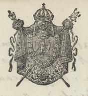 PORRENTRUY 20.1.1810 Héraldique Vendlicourt Suisse - Documentos Históricos