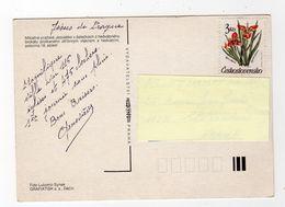Fev18   81145     Timbre Sur Carte Postale - Czechoslovakia