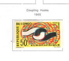 Congo Brazzaville 1965 PA Euroafrica  Scott.C26+ See Scans - Nuevas/fijasellos