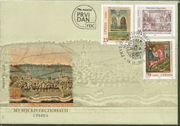 SRB 2015-634-6 MUSEUM EXPONATE, SERBIA, FDC - Serbien