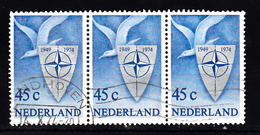 Nederland 1974 Nvph Nr  1056, Mi Nr 1037, NATO, NAVO Blok Van 3, Stempel Kantoor Eindhoven - Period 1949-1980 (Juliana)