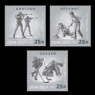 Russia 2013 Mih. 1975/77 Winter Olympic Games In Sochi. Sports (IV) MNH ** - 1992-.... Federation