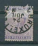 41 Gestempeld BRUXELLES 7 - Cote 40,00 - 1883 Leopold II
