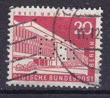Germany Berlin Perfin Perforé Lochung 'DS' (2 Scans) - Berlin (West)
