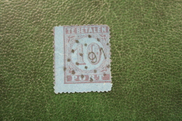 Postage Due Timbre-taxe Portmarke 10 Cent NVPH PORT 2 P2 1870 PUNTSTEMPEL 91 Rotterdam Gestempeld /Used NEDERLAND - Postage Due