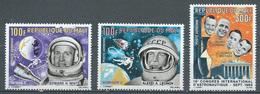 Mali Poste Aérienne YT N°33/35 Hommes Dans Le Cosmos Neuf ** - Mali (1959-...)